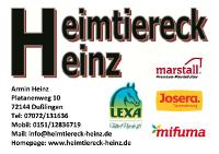 Sponsor Heimtiereck Heinz